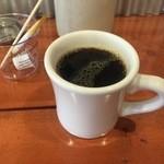 マッドバーガー - セットのホットコーヒー