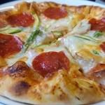 Baker's Oven - サラミ&マッシュルームピザ