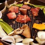 駱駝家 - 脂→野菜→肉の順にのせましょう