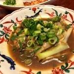 日本橋 本陣房 - 牡蠣炒め