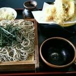 小松屋 - 天ざるそば(細麺)