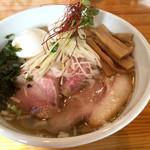 麺笑 コムギの夢 - 特製塩ラーメン(980円)