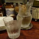 食堂Tavolino - ☆お水グラスはこちらです☆