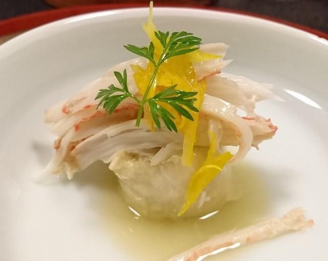 御料理 はやし - 松葉蟹