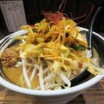 麺場 浜虎 - 辛ニラネギ味噌ラーメン old style