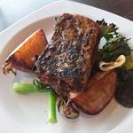 彦根バルやぶや食堂 - ランチのメイン「太刀魚のグリル」