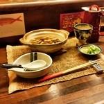 琉球料理 万座 - 中身汁