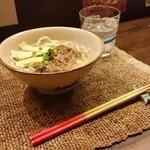 琉球料理 万座 - ソーキそば