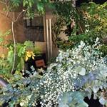 サンクスネイチャー - 入口がすでにジャングル的な・・・