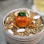 Restaurant PORTUS - 沢蟹のフリット