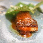 Restaurant PORTUS - フォアグラのソテー 深谷葱 西洋わさび
