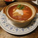 ケイアンドケイ - ハッシュドビーフと卵入りグラタン