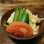 ケイアンドケイ - セットのサラダ
