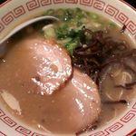 濃厚豚骨NOTON - 濃豚ラーメン(細麺) 650円