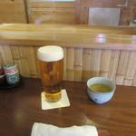 舟蕎山 - 生ビール