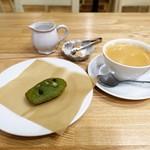 マドレーヌ ラパン - 抹茶かのこ、コーヒー