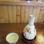 舟蕎山 - 燗酒「初孫」