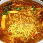 上海モダン - 黒酢酸辣湯麺❤ヾ(´∀`ヾ)