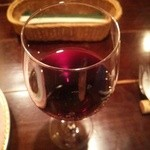 46750583 - グラスワイン 赤