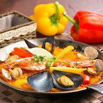 エスペランサ - 魚介のミックスパエリア!!スペイン料理といえばこれ!!
