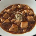 46750770 - 2016年1月。坦々麺セットのハーフ麻婆豆腐。