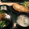 鎌倉 六弥太 - 料理写真:鎌倉バーグ御膳、ミニちりめん山椒丼