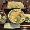 鴨立庵 - 料理写真:ミニ天丼セット