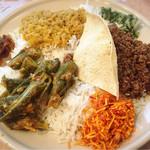 スリランカ料理 ラサハラ - ビーフキーマ