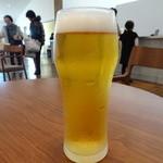 温泉カフェ - 生ビール(550円)