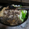季節料理 つばき - 料理写真:熊鍋(2016年1月ディナー冬ジビエ)