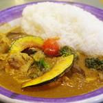 エチオピアカリーキッチン - チキン野菜