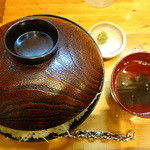 46754733 - ステーキ丼(特盛)(\990)(2014/11ver)