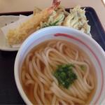 さぬきうどん 福梅 - 料理写真:天ぷらうどん