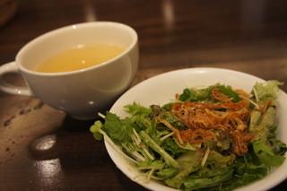 ホノルルハウス - サラダ&スープ