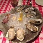 グランド・セントラル・オイスターバー&レストラン 品川店 - 生牡蠣8ピース