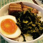 七宝 麻辣湯 - ミニ魯肉飯
