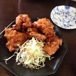 ちゃんぽん・とんこつラーメン豊 - 料理写真:からあげ 普通