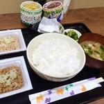 Nattoukoubousendaiya - 納豆食べ放題定食