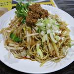 北京 - 料理写真:たんたん焼きそば 単品だと650円