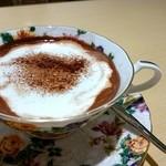 CAFE LOTUS - ココア♪甘さは調節してくれます(´>ω<`)