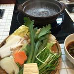 岩津屋 - お野菜もたっぷり〜ん♪♪