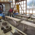 マルモ水産 九十九島海上かき小屋 - 筏上の小屋
