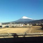 46768301 - 雲ひとつ無い、富士