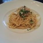 ピソリーノ - ツナと白菜のペペロンチーノ。