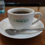 ブラジルコーヒー - 2016.01 食後の飲物は150円引きで、コーヒー230円