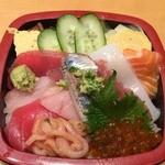 46770786 - ランチのちらし寿司(だったかな?)