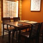 御料理武蔵野 - テーブル席