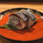 御料理武蔵野 - 鯖寿司