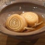 御料理武蔵野 - 大根の切り株煮