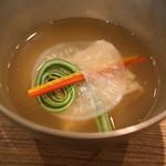 御料理武蔵野 - 海老真丈のお椀